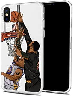 Bap Store Basketball Silicone Protective Transparent Thin Case Compatible with iPhone 7 / iPhone 8 (10)