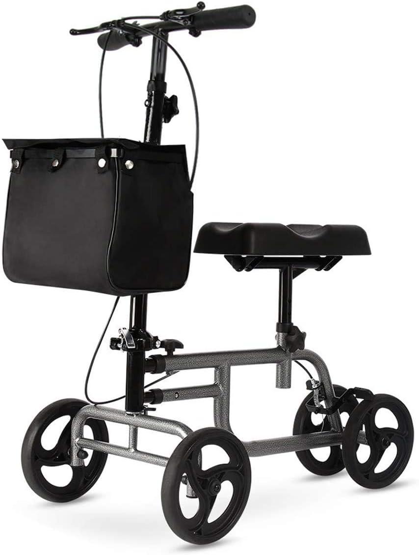 Yonntech Knee Scooter Walker Steerable SALENEW大人気! お洒落 Crutch Altern