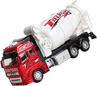 rongweiwang Dra tillbaka legering ABS mixer lastbil leksak konstruktion fordonsteknik lastbil modell pojkar födelsedag