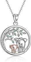 Lucky Elephant/Koala/Unicorn/Owl/Wolf/Penguin/Panda/Bee/Mama Bear/Deer Necklace Cute Animal Necklace Gifts for Mom Woman