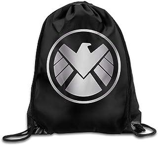 Bolso con cordón Mochila Escolar mochilaMochila con cordón Estilo Platino de Agentes al Aire Libre de Shield
