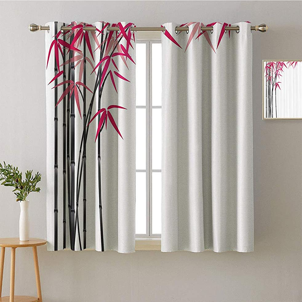 Suchashome Curtain Kitchen Grommets Light Darkening Curtains Design Darkening Curtains Style Darkening Curtains Bedroom/Living (1 Pair, 36