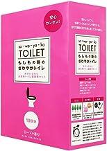 さわやかトイレ 10回分 ローズの香り 富士メンテニール -