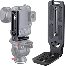 DSLR Camera L Bracket Vertical Horizontal Switching Tripod Head Quick Release Plate Arca Swiss Compatible with Digital DSL...