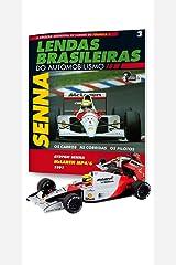 Mclaren Honda Mp4/6. Ayrton Senna - Lendas Brasileiras do Automonilismo. 3 Capa comum