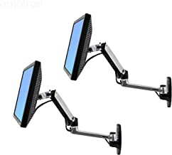 Ergotron 45-243-026 LX Wall Mount LCD Arm - 2 Pack with Essential Accessories