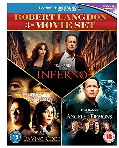 Angels & Demons / Da Vinci Code, the / Inferno - Set [Blu-ray] [UK Import]