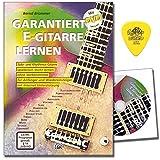 garantiza S Guitarra de aprendizaje de guitarra, escuela de Bernd brümmer con DVD y Dunlop Púa–con más de 300Licks, Riffs y übungenmit más de 300Licks, Riffs, Ejercicios y soporte de Internet