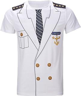 Men's Captain Costume T-Shirts