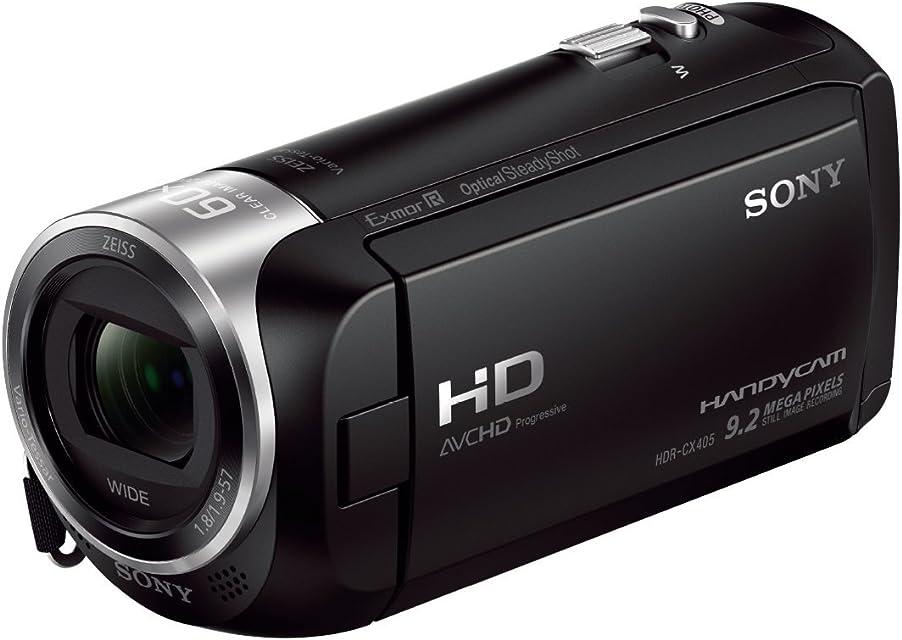 Sony HDR-CX405 - Videocámara (CMOS 92 MP 1/0228 mm (1/5.8) 30x 350x 19 - 57 mm) Negro [Enchufe UK]