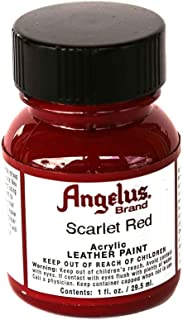 Angelus Acrylic Paints 1oz Color Scartet Red