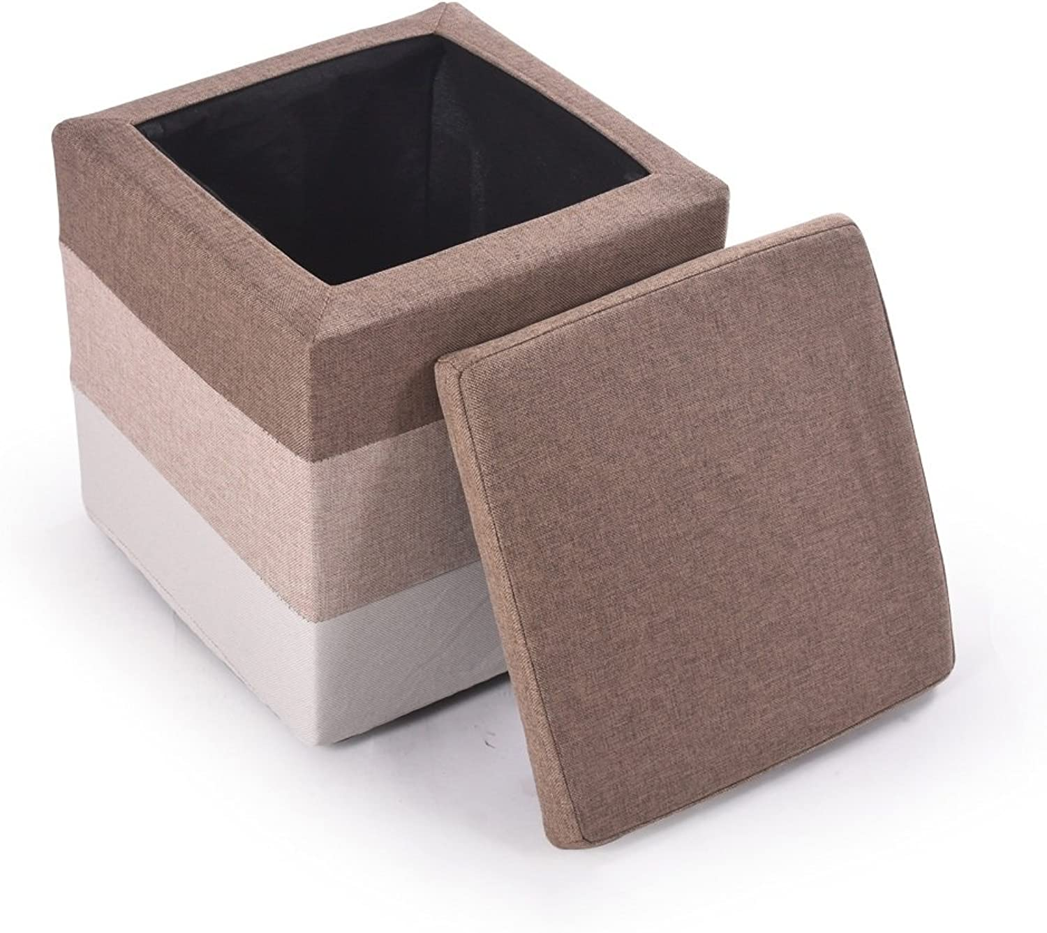 XRXY Creative Footstool   Cloth Sofa Stool   Changing His shoes Stool   Simple Storage Stool (4 colors available) ( color   A )