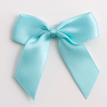 autoadesivo /nero /6/pezzi/ / Pulsante blu Crafts 5/cm fiocco di raso