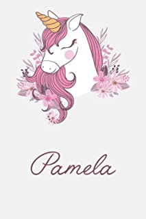 Pamela And Unicorn: Great Gifts Notebook for Women, Girls, Wives, Mom, Aunt, kids Friends | Fun Spy Games for Holiday | Pa...