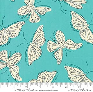 Wild Nectar - Aqua Butterfly - Crystal Manning - Moda - 752106366107-11802 11