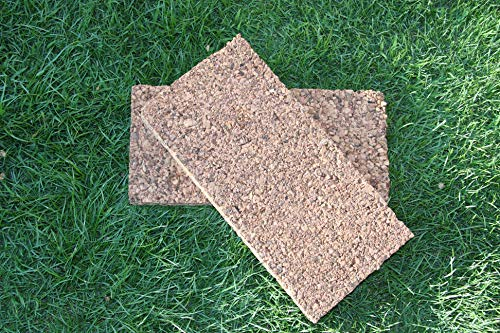 PACK Placas de corcho natural 100 cm x 50 cm (DISPONIBLES DE 1 CM A 6 CM DE GROSOR) (5, 3 CM GROSOR)