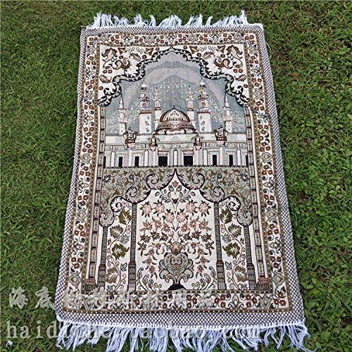 sanjin moslim aanbidding tapijt gebed tapijt dun draagbare moslim gebed deken voor mannen kinderen en vrouwen
