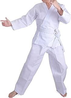 HongH Taekwondo Costume Kids Student Uniform Karate Suit Kungfu Sports Martial Arts Lightweight Free Belt