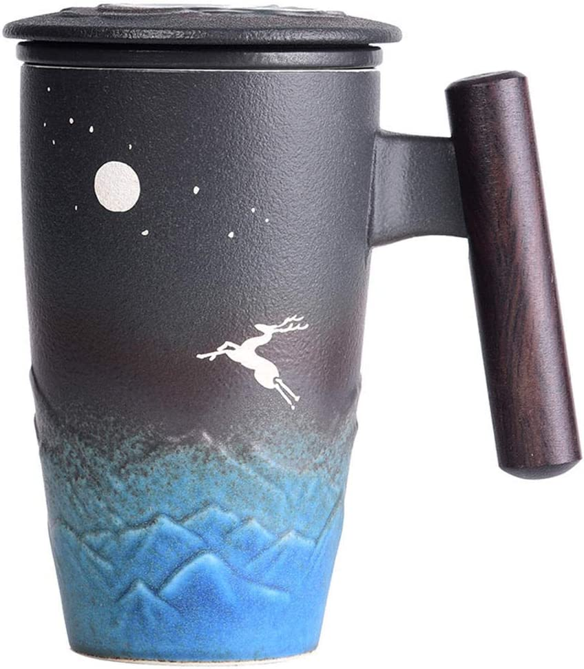 Mug Special Campaign With Lid Tea Water Separation Cup Offi Men And Las Vegas Mall Meeting Women
