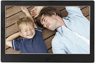 FEE-ZC 10 Inch LED Smart Digital Photo Frame WiFi Display Slideshow E-Albums MP3/MP4 Video Player 8GB Electronic Picture A...