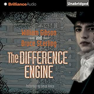 The Difference Engine audiobook cover art