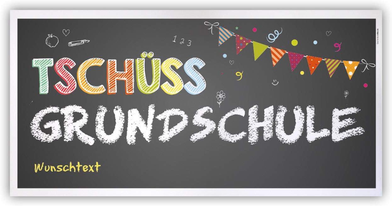 Herz & Heim® Abschied Grundschule Banner   Tschüss Grundschule ...