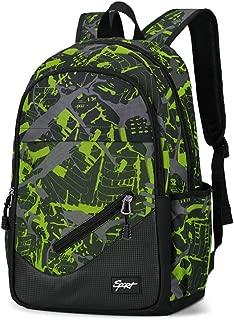 School Backpack Bookbag Daypack - Multiple Pockets for High Middle Student Boy Girl