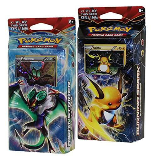 Pokémon 1 Pokemon Xy8 Breakthrough Theme Decks Raichu & Noivern TCG...