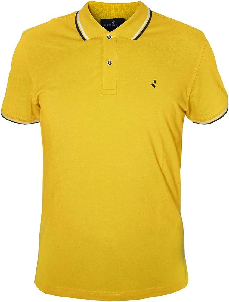 Navigare polo maglietta a maniche corte da uomo 100% cotone PoloNav82110_3_3