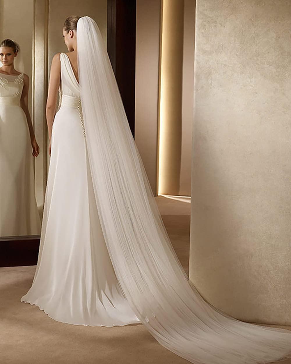 Haraty 2-layer Bridal Veils 118