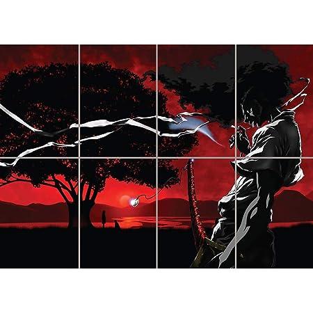 "035 Afro Samurai Japanese Anime Manga 24/""x31/"" Poster"