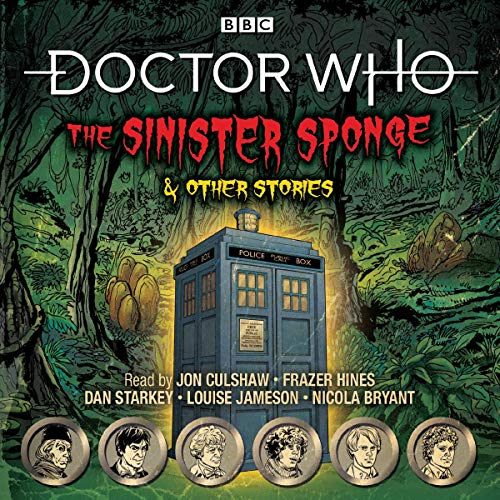 『Doctor Who: The Sinister Sponge & Other Stories』のカバーアート