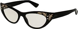 غوتشي نظارة شمسية للنساء ، شفاف ، عين القطة ، GG0089S_002