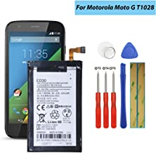 Shidai ED30 Replacement Battery Compatible with Motorola Moto G XT1028 XT1031 XT1032 with Tools