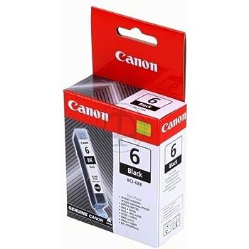 Canon Pixma Ip 4000 Series Bci 6 Bk 4705 A 002 Original Tintenpatrone Schwarz 210 Seiten 13ml Bürobedarf Schreibwaren