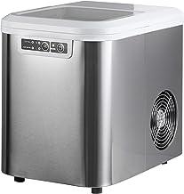 WOLTU EM01sb Machine à glaçons 120W Ice Maker Machine à Glace 2.2L,Argent