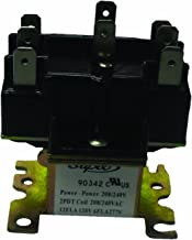Supco 90340 General Purpose Switching Relay, 24 V Coil Voltage, Double Pole Double Throw Contacts