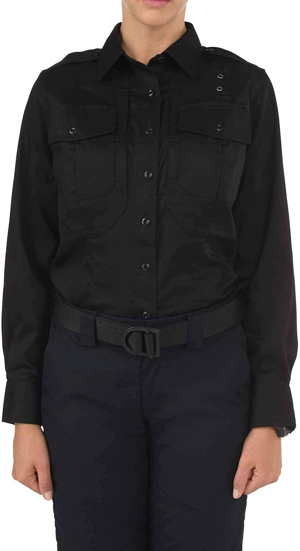 5.11 Tactical Women's Twill PDU Class B Long Sleeve Shirt, Ripstop, Teflon Finish, Style 62065
