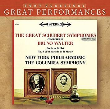 "Schubert: Symphonies Nos. 5 & 8 ""Unfinished"" - Beethoven: Leonore Overture No. 3, Op. 72b"