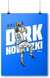Dirk Nowitzki /& Luka Doncic Team 500 LEVEL Dirk Nowitzki Dallas Basketball Wall Poster