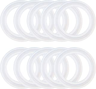 50 Pieces Silicone Sealing Gasket O-Ring Replacement Gaskets Compatible with Tri Clamp Leak Proof Bottles (2 Inch)
