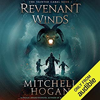 Revenant Winds                   Written by:                                                                                                                                 Mitchell Hogan                               Narrated by:                                                                                                                                 Oliver Wyman                      Length: 17 hrs and 58 mins     5 ratings     Overall 4.0