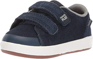 Stride Rite Unisex-Child Boys Jude Boy's Premium Leather Sneaker