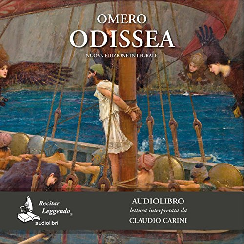 Odissea audiobook cover art