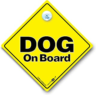 Dog On Board Sign, Dog On Board Car Sign, Dog in Car Sign, Beware of The Dog Sign, Dog in Vehicle Sign, Dog in Transit Sign