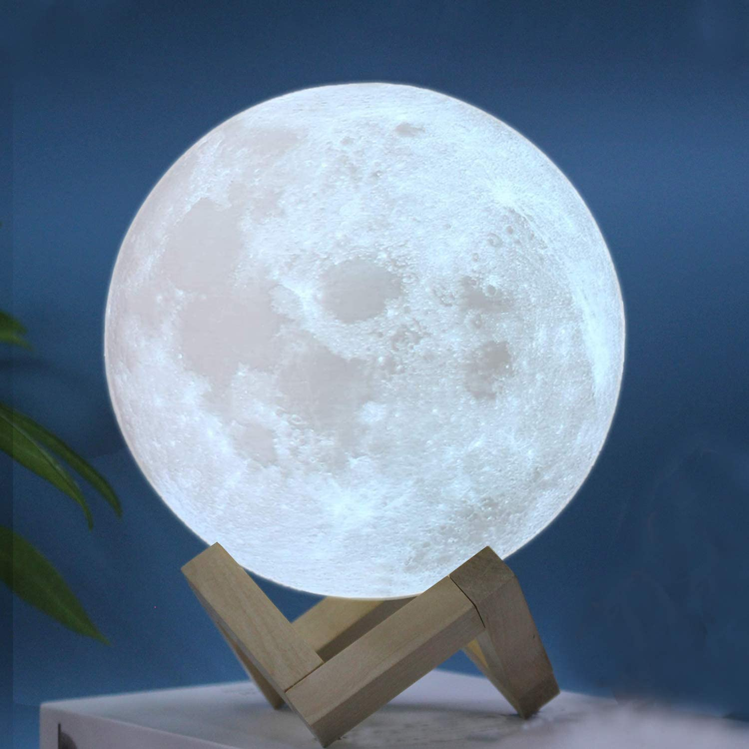 RMFSH Moon Lamp Ranking TOP15 7.9inch for Ligh 3Colors Bedrooms shipfree