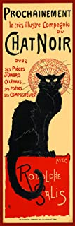 Pyramid America Le Chat Noir The Black Cat Bohemian Montmartre District Paris Vintage Advertisement Cool Wall Decor Art Print Poster 12x36