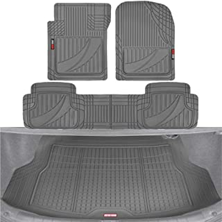 Grey with Grey Trim Connected Essentials 5019500 Tailored Heavy Duty Custom Fit Car Mats Premium