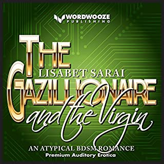 The Gazillionaire and the Virgin audiobook cover art