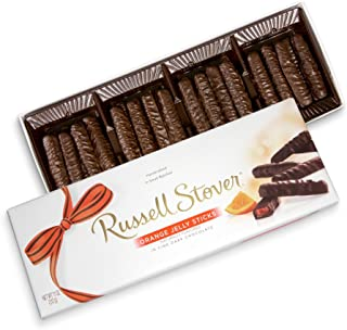 Russell Stover Dark Chocolate Orange Jelly Strings, 11 oz. Box